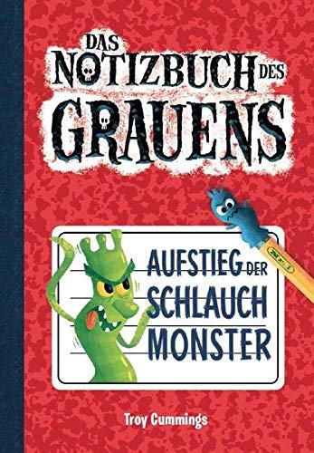 Notizbuch des Grauens 1 - Kinderbücher ab 8 Jahre für Jungen: Aufstieg der Schlauchmonster