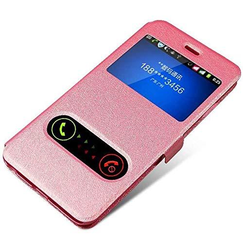 RZL Teléfono móvil Fundas para LG K8 K10 G3 G4 G5 G6 G7 P8 P6, FILP de Windows Cuero Teléfono Cubierta del Caso para LG K3 K4 K7 X de energía 2 V30 V30s Thinq 2017 2018