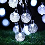 Guirnaldas Luces Exterior Solar Luces de Cadena Solar para Exteriores Luces de Cadena Impermeable, para jardín, Patio, hogar, Navidad, Fiestas, Boda Luces Exterior