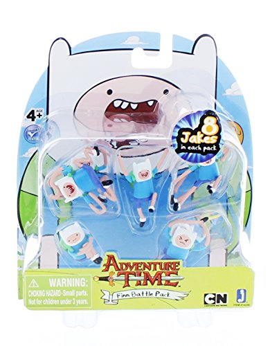 Adventure Time Battle Pack - Finn 8 Finn Battle Pack