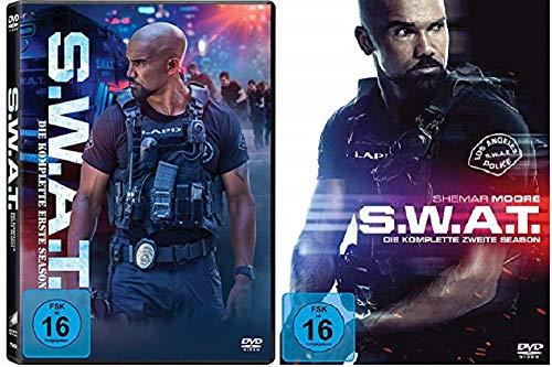 S.W.A.T. Staffel 1+2 Die Serie [DVD Set] SWAT 1+2