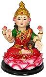 Krishna Culture Sweet Baby Laxmi Statue 6' Lakshmi Goddess of Fortune Idol Golu Doll