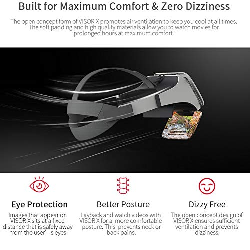 Best Price Professional 3D Glasses Phone Holder Durable Viewer Movie Screen Magnification Augmented ...