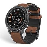 Amazfit GTR スマートウォッチ 腕時計 歩数計 着信通知 12日間の連続使用 高精細 AMOLEDディスプレイ 5ATM防水 12種類運動モード (47mm, アルミニウム合金)