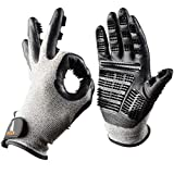 PetsFellow Fellpflege-Handschuhe, Bürste für Hunde-Haare, Katzen-Haare, Pferde-Haare, 1 Paar