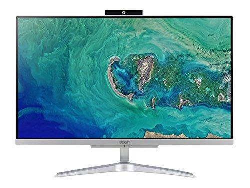 """Acer Aspire C24-865 All in one Processore Intel Core i5-8250U, RAM da 8 GB DDR4, SSD 256 GB, Display da 23.8"""" FHD IPS LED LCD, Scheda Grafica Intel HD, Wireless, Tastiera e Mouse USB, Windows Home"""