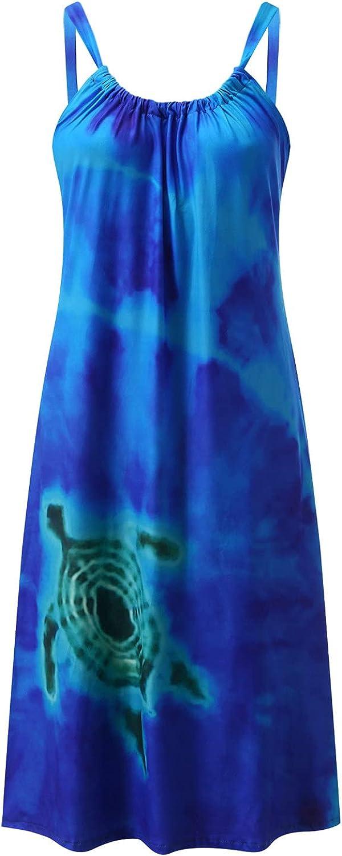 Women's Dresses Summer Floral Spaghetti Strap Button Down Midi Dress