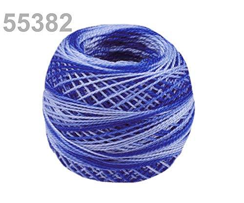 10stück 55382 Dazzling Blue Stickgarn Perlovka Ombré Nitarna Ceska Trebova, Stick- Und Häkelgarne, Stricken, Häkeln Sticken, Kurzwaren