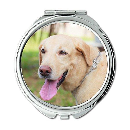 Yanteng Taschenspiegel, Taschenspiegel Rund Taschenspiegel Doppelseitig, Neu-Jersey Taschenspiegel für Herren/Damen MT 069