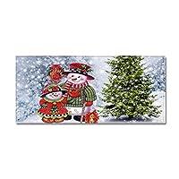 サンタクロースロングストリップカーペットフロアマット、キッチンソファベッドルーム、バスルーム、キッズルームのためのクリスマスホリデーようこそラグ、吸収剤は非スリップ、,8,A