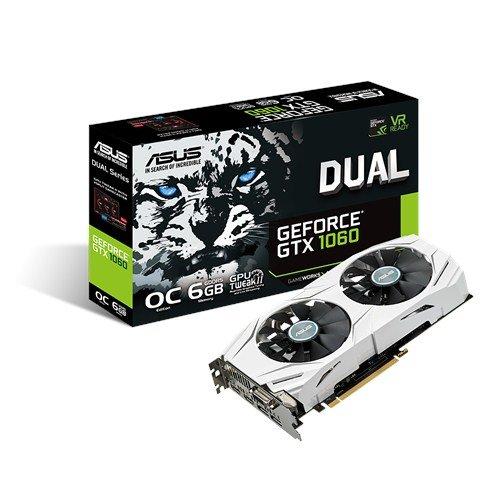 ASUS GeForce GTX 1060 6GB Dual-fan OC Edition