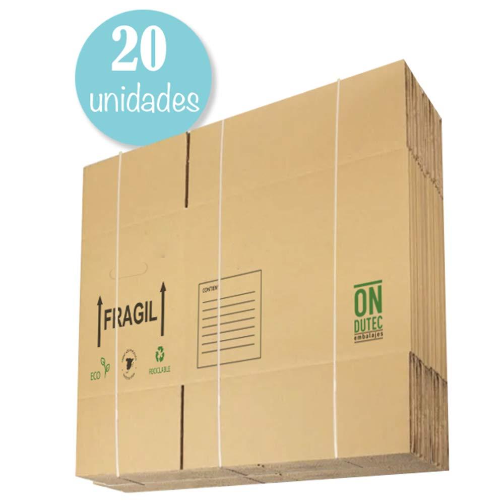 Pack 20 Cajas Carton Mudanza Grandes 430x300x250 - Cajas Carton Baratas - Cajas Carton Mudanza - Cajas Carton - Cajas Mudanza - Cajas de Carton - Cajas de Carton Mudanza - Cajas para Mudanzas: Amazon.es: Oficina y papelería