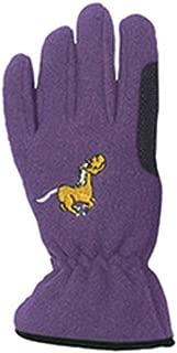 Equi-Star Childs Pony Fleece Gloves Medium Purple