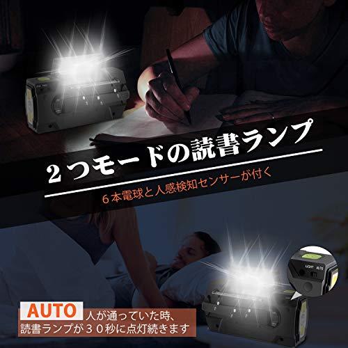 Runningsnail『防災懐中電灯ラジオ』