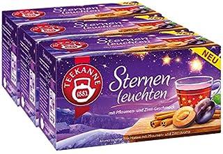 Teekanne Sternenleuchten, 3er Pack
