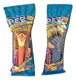 Pez Tigger and Eeyore from Winnie the Pooh Dispensers Bundle - Each in Cello Bag with 2 Rolls Candy Refills