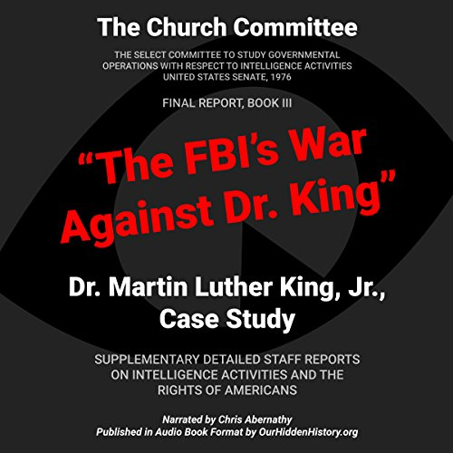 The FBI's War Against Dr. King audiobook cover art