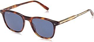 لاكوست نظارة شمسية نمط مستطيل -رجال