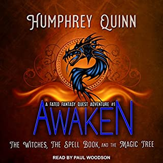 Awaken: The Witches, the Spell Book, and the Magic Tree audiobook cover art