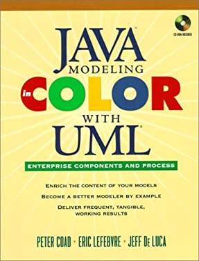 Java Modeling In Color With UML: Enterprise Components and Process