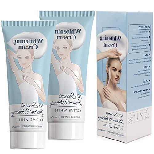 (2pcs60ml) Fade Cream,Anti-dark Spot Dark Spot Corrector for Knees, Elbows, Armpit,bikini line Body Cream