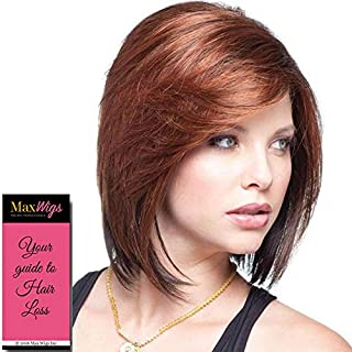 May Wig Color Butter Pecan Rooted - Noriko Wigs 9