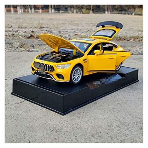 Maßstab Auto-Modell 1:32 Für Mercedes Für Benz GT63 Legierung Metallautomuster Modell Spielzeug Ziehen Auto...