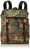 Guess Herren SALAMEDA Backpack Rucksack, Camouflage, Einheitsgröße