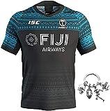 LRH Fiji - Camiseta de rugby para hombre, camiseta de fútbol, camiseta de fútbol para el hogar y...