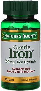 Natures Bounty Gentle Iron 28 mg - 90 Capsules