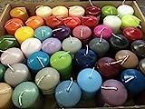5 KG HMH Stumpen Kerzen gemischt verschiedene Größen und Farben Stumpenkerzen