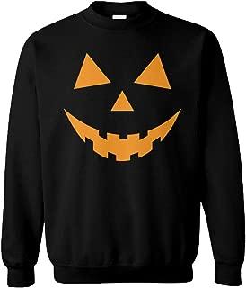 Pumpkin Face - Halloween Costume Unisex Crewneck Sweatshirt