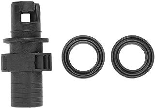 VGEBY1 Adaptador de válvula de Aire, Conector de Tornillo de Manguera de Adaptador de válvula de Aire Negro para Kayak de Barco