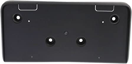 License Plate Bracket for Chevrolet Equinox 10-15 Front Textured (Black)