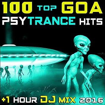 100 Top Goa Psy Trance Hits + 1 Hr DJ Mix 2016