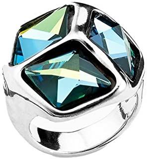 Uno de 50 CUBECUBED collections ring Size 7 1/2(USA)-O 1/2(UK)
