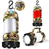 YOUSMART Rechargeable CREE LED Torch, Multi-functional Camping Light, 1000 Lumen Waterproof Ultimate Lantern,...