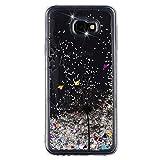 BIZHIKE Handyhülle Glitzer Hülle für Samsung Galaxy
