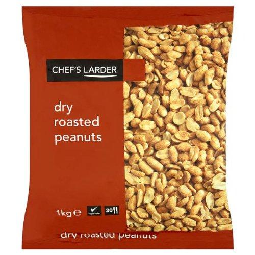 Despensa seco asado cacahuetes 1kg del Chef