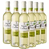 Mayor de Castilla Verdejo Vino Blanco D.O Rueda, Volumen de Alcohol 13.5% - 6 Botellas x 750 ml - Total: 4500 ml