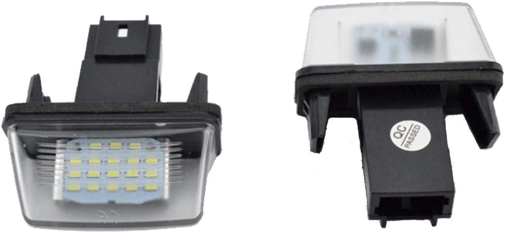 Canbus para A4 B8 // A6 C7 // TT // R36 VAWAR TOP LED luz de matr/ícula blanco del xen/ón ning/ún mensaje de error CE