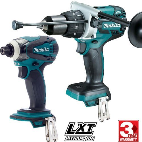 Makita dlx2130tj2 – Kit Combo mit Tool DGA504Z 125 mm + Schlagbohrmaschine dhp481z 115 NM