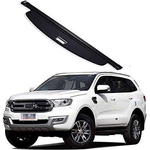 ZWH-box Car Curtain Trunk Partition Security Shield Screen Trunk Cargo Cover Luggage Shade Shield Security Protective Cover decoration for Ford Everest