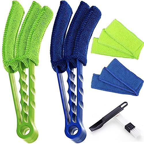 Spazzola per la pulizia delle finestre multiuso Groove Mini spazzola per la pulizia di tutti gli angoli e gli spazi vuoti, cucina, utensili per la pulizia della casa (3 pezzi)