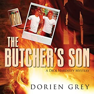 The Butcher's Son     A Dick Hardesty Mystery, Book 1              By:                                                                                                                                 Dorien Grey                               Narrated by:                                                                                                                                 Jeff Frez-Albrecht                      Length: 5 hrs and 22 mins     65 ratings     Overall 4.5