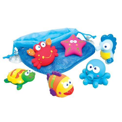 Imaginarium MARINET Squeezy Animalitos de Goma para la bañera