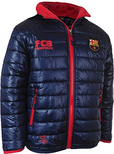 Fc Barcelone Doudoune Barca - Collection Officielle Taille Adulte Homme M