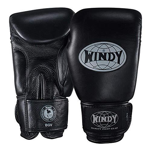 WINDY Klassische Leder-Boxhandschuhe, Muay Thai, Sparring, Kickboxen, Handschuhe, 284 g, 340 g, 455 g, Sport & Outdoor, 340,2 g (12 oz)