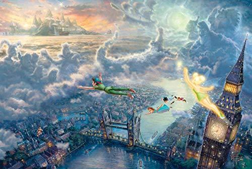 Magia de la Ciudad de Dibujos Animados 1000 Piezas Puzzle Juego de Rompecabezas Rompecabezas para niñosAdultos Puzzle Animal paisajes Clásico Puzzle Navidad Halloween Juegos Puzzle Juguete Divertido