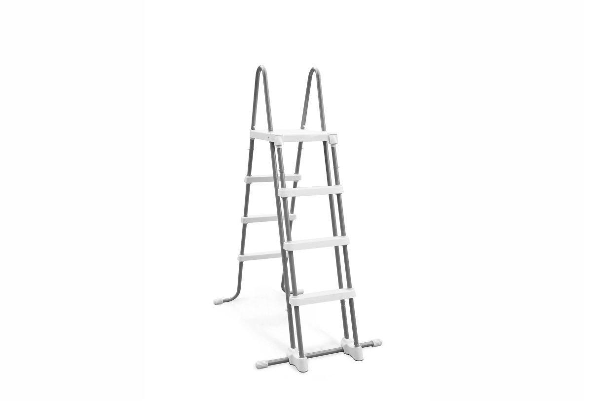 Intex 58974 Escalera sin Plataforma para piscina con 122 cm altura ...